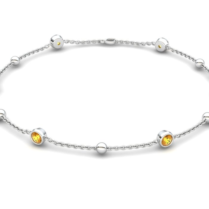 Bracelet Citrine, Sterling Silver_image2)