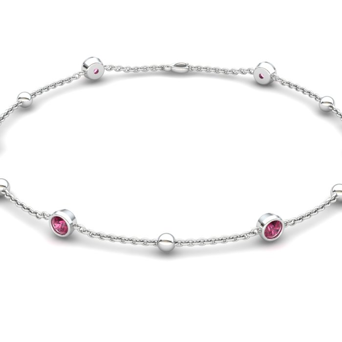 Bracelet Garnet, Sterling Silver_image2)