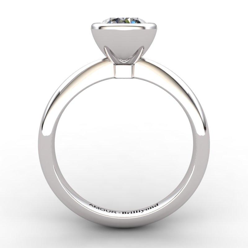 Classic White Zircon Ring _image2)