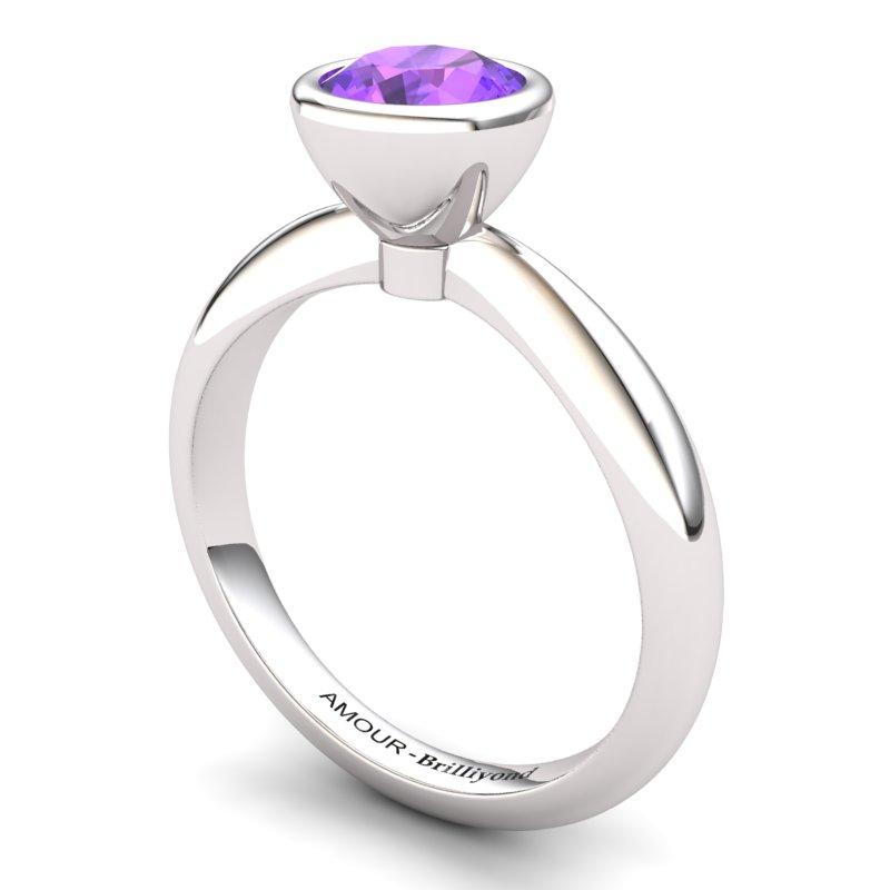 Classic Amethyst Ring _image1)