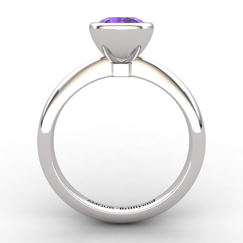 Classic Amethyst Ring _image2)