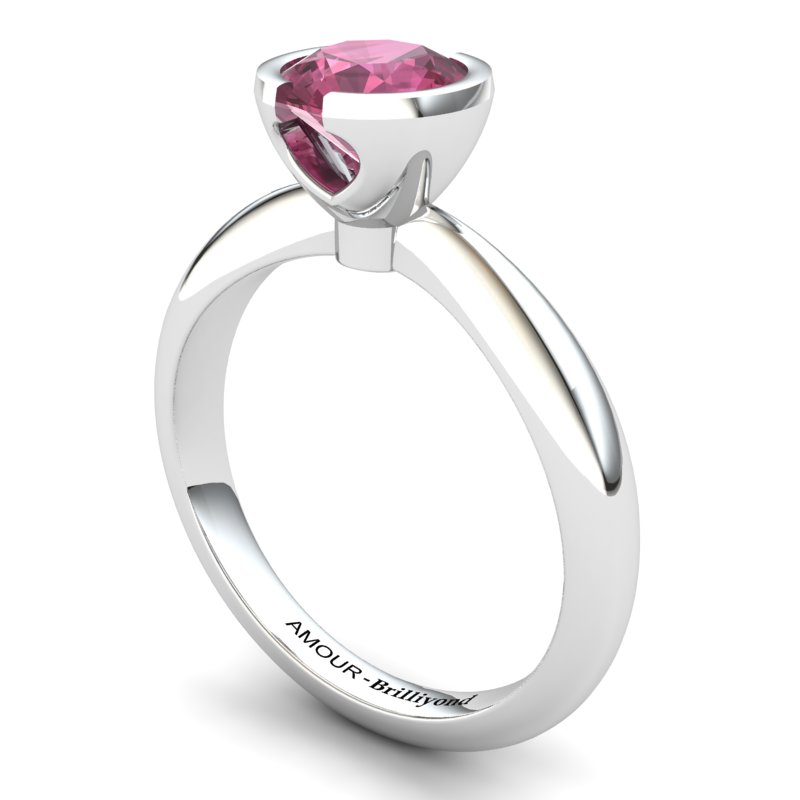 Classic Radiant Garnet Ring _image1)