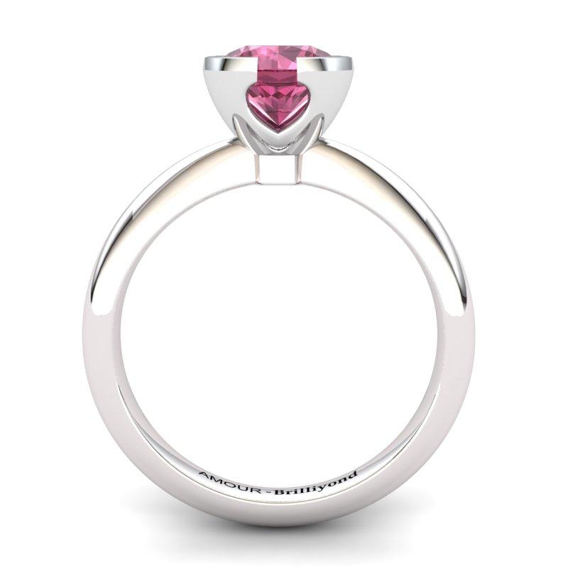 Classic Radiant Garnet Ring _image2)