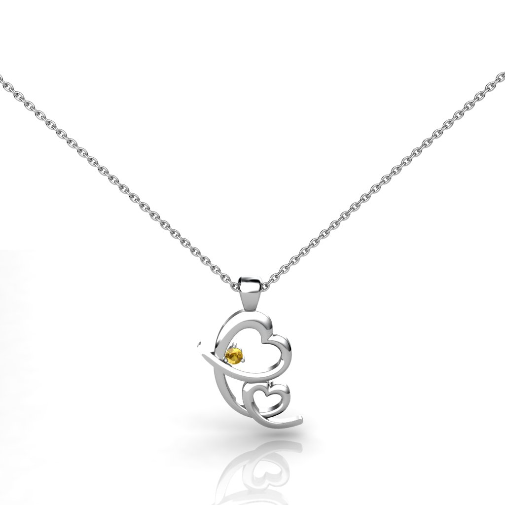 Endless Mother's Love Pendant - Citrine_image1)