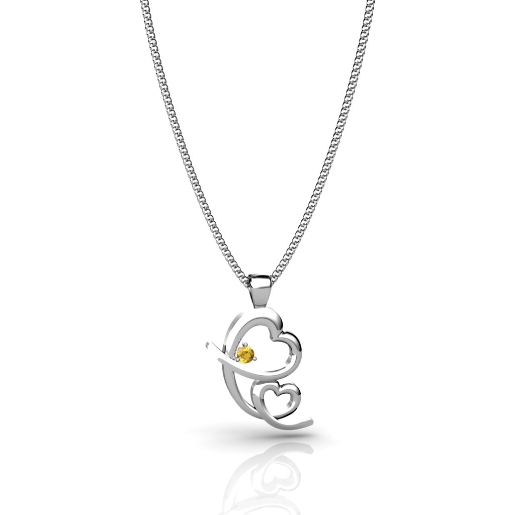 Endless Mother's Love Pendant - Citrine_image2)