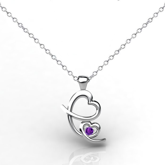 Mother's Love Pendant - Amethyst_image2)