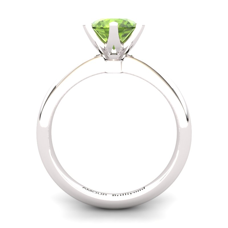 Zoie Solitaire Ring - Peridot_image2)