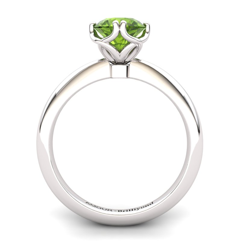 Scepter Solitaire Ring - Peridot_image2)
