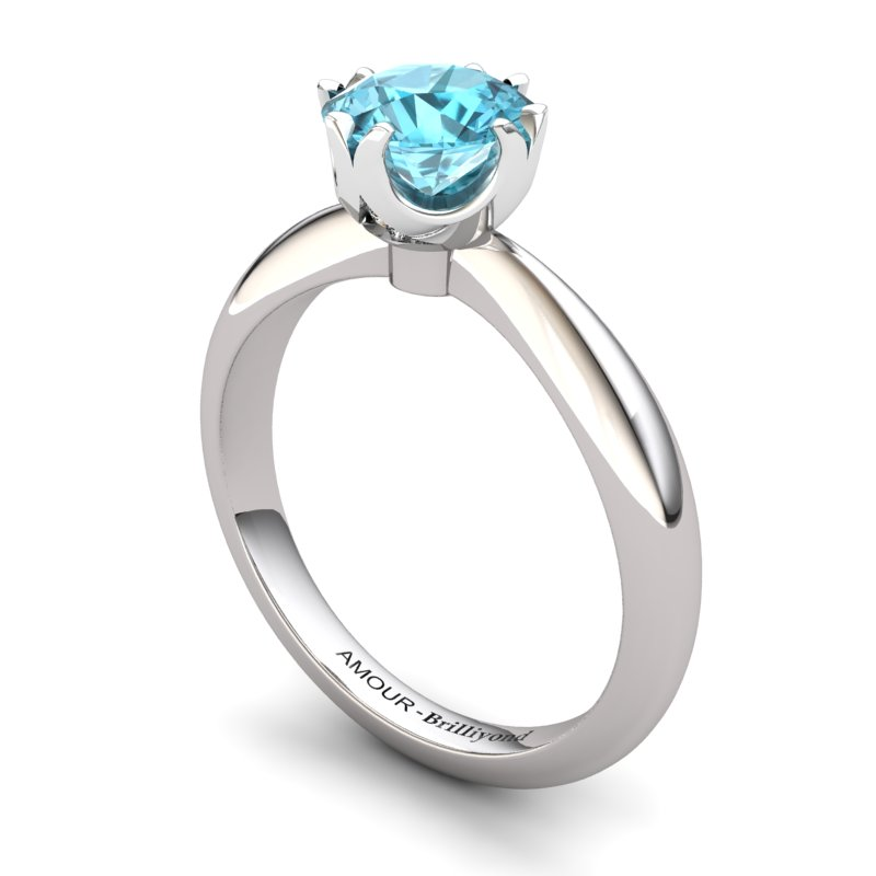 Fire Ring - Blue Topaz_image1)