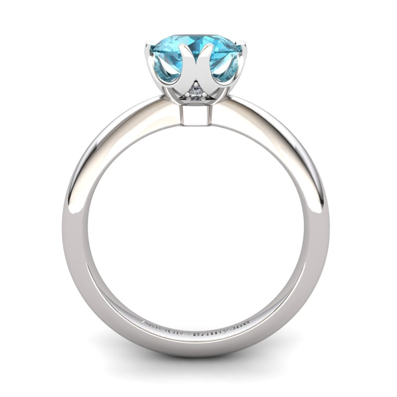 Fire Ring - Blue Topaz_image2)
