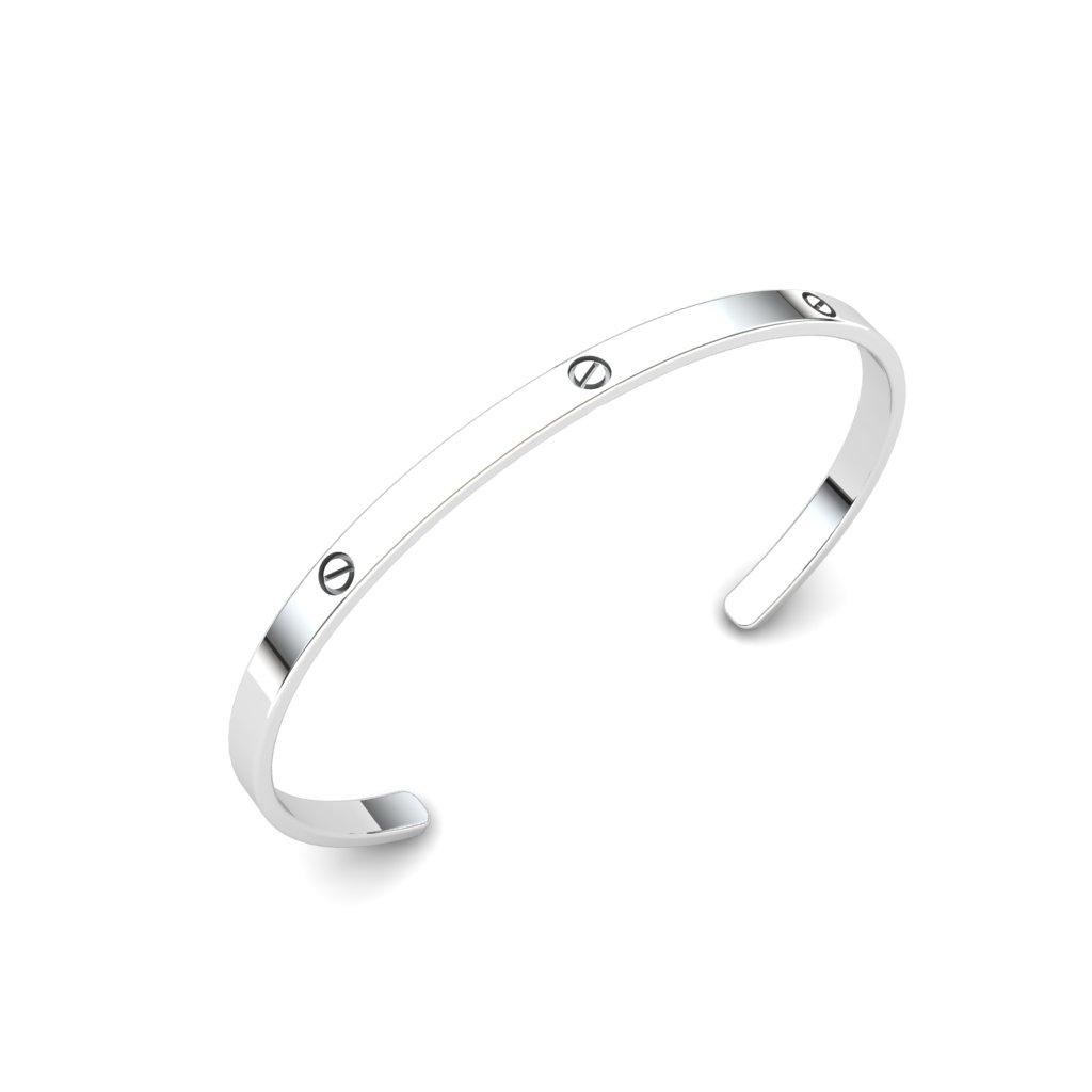 Forever Love Cuff Bracelet_image1)