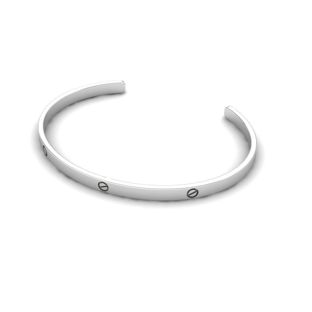 Forever Love Cuff Bracelet_image2)