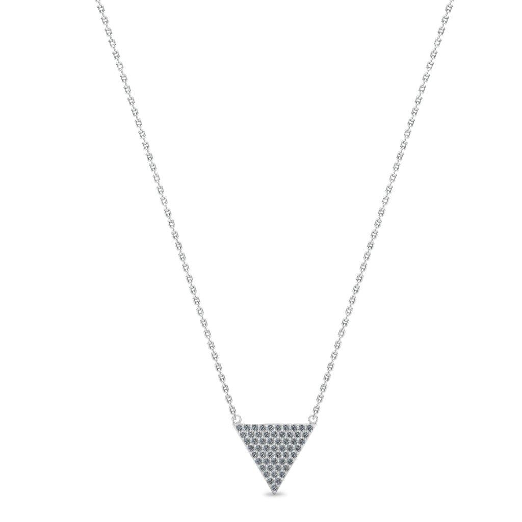 Zircon Triangle Pendant_image1)