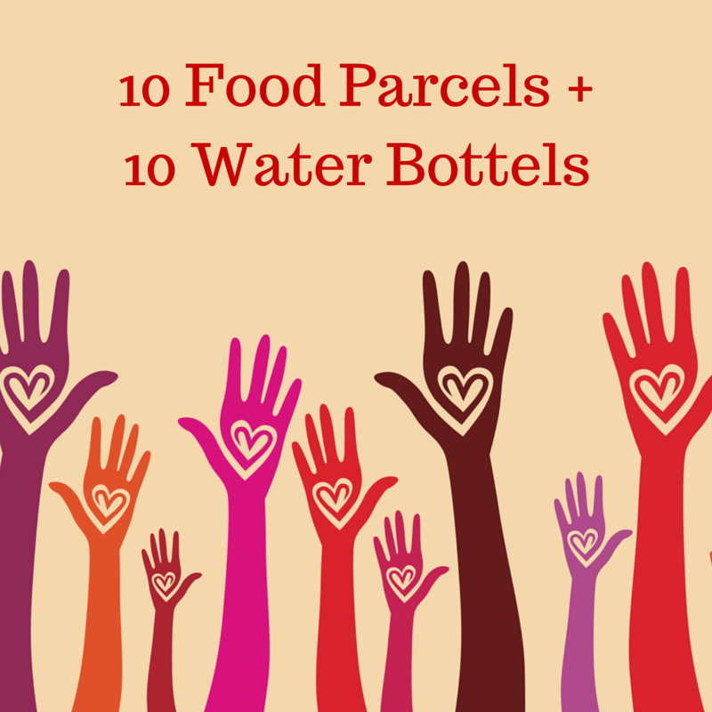 10 Food Parcels and 10 Water Bottles for Flood Victims_image1)